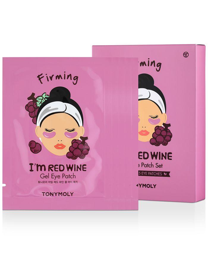 TONYMOLY - I'm Red Wine Gel Eye Patch, 5-Pk.
