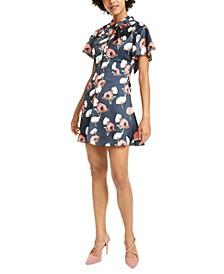 Talia Floral-Print Mini Dress