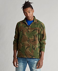 Men's Camo Quarter-Zip Pullover