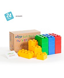 8 Large and 16 Small Plump Series 24 Piece Set