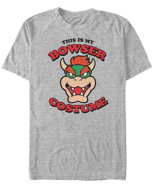 Fifth Sun Nintendo Men's Bowser Halloween Costume Short Sleeve T-Shirt