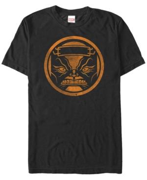 Marvel Men's M.o.d.o.k. Orange Organism Logo Short Sleeve T-Shirt