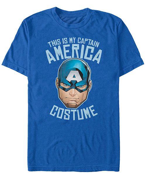 Fifth Sun Marvel Men's Avengers Captain America Halloween Costume Short Sleeve T-Shirt