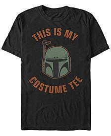 Star Wars Men's Boba Fett Halloween Costume Short Sleeve T-Shirt
