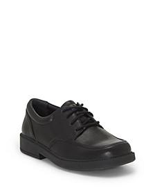 First Semester by Little Boys and Big Boys Classic Tie Oxford School Uniform Shoe