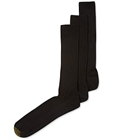 ADC Canterbury 3 Pack Crew Extended Size Dress Men's Socks