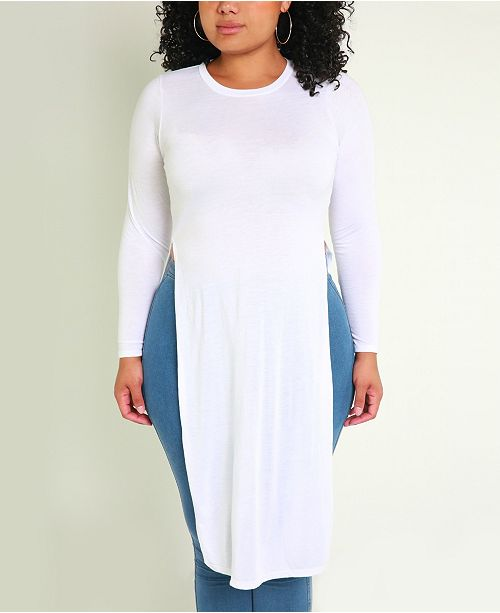 Rebdolls Double Slit Maxi Top by The Workshop at Macy's