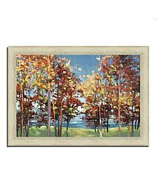 "Kaleidoscope by Julia Purinton Framed Painting Print, 42"" x 30"""
