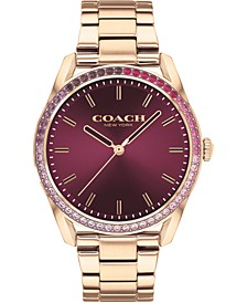 Women's Preston Rose Gold-Tone Bracelet Watch 36mm