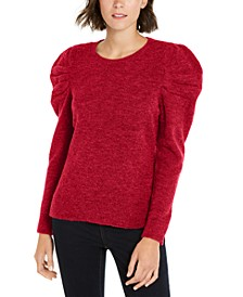INC Petite Puff-Sleeve Sweater, Created For Macy's