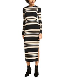 French Connected Striped Sweater Dress