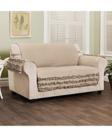 Claremont Ruffled Loveset Furniture Cover