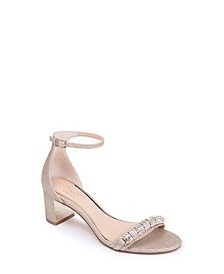 Jewel Badgley Mischka Ramsey Ornamented Sandals