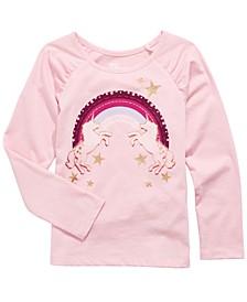 Toddler Girls Rainbow Unicorns T-Shirt, Created For Macy's