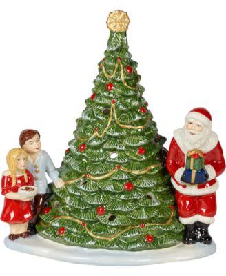 Santa on Tree Lantern