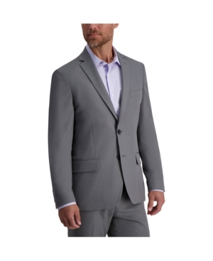 Stretch Heather Skinny Fit Suit Separate Jacket