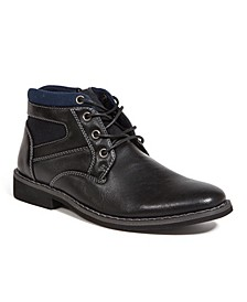 Little and Big Boys Irvine Jr. Lightweight Dress Comfort Casual Fashion Chukka Boot