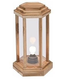Laterne Teak Wood Lamp - Large
