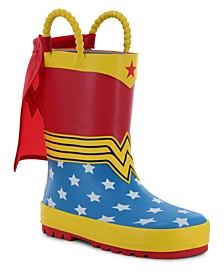 Little Kid's and Big Kid's Wonder Woman Rain Boot