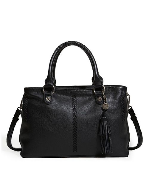 The Sak Collective Baylis Soft Leather Satchel