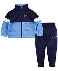 Nike Baby Boys 2-Pc. Colorblocked Zip-Up Jacket & Jogger Pants Set