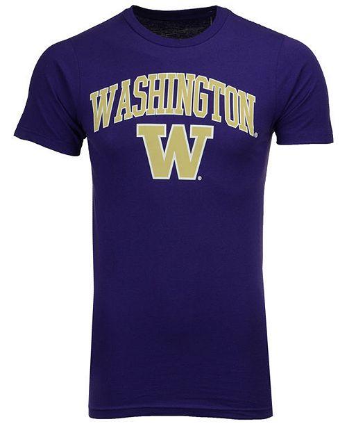Retro Brand Men's Washington Huskies Midsize T-Shirt