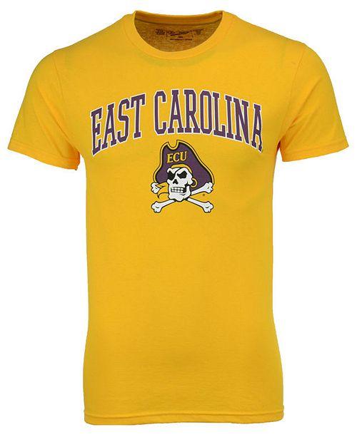 Retro Brand Men's East Carolina Pirates Midsize T-Shirt