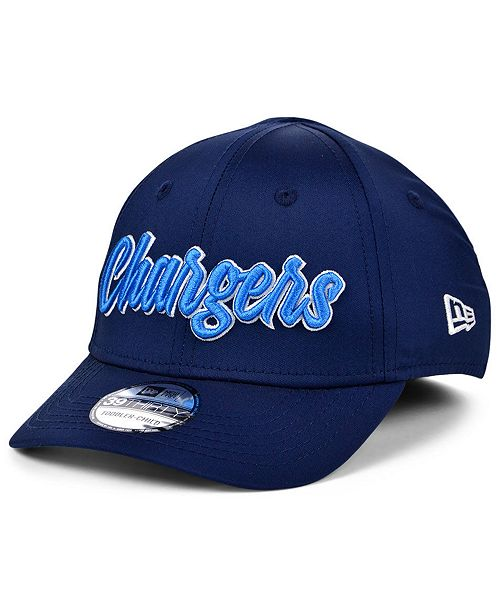 New Era Boys' Los Angeles Chargers On-Field Sideline Home 39THIRTY Cap