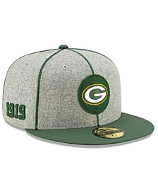 Little Boys Green Bay Packers On-Field Sideline Home 59FIFTY Fitted Cap