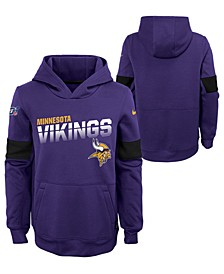 Big Boys Minnesota Vikings Therma Hoodie