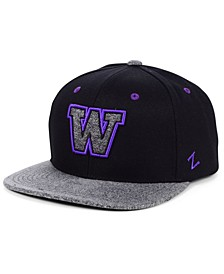 Washington Huskies Status Snapback Cap