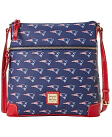New England Patriots Saffiano Large Crossbody