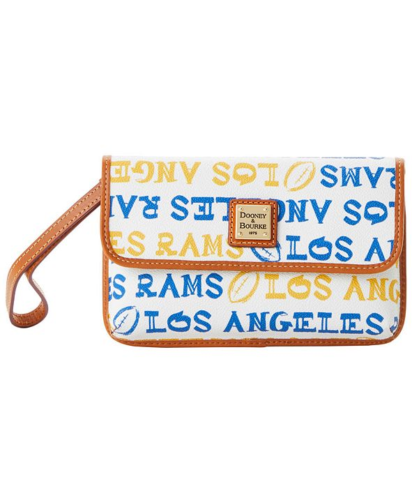 Dooney & Bourke Los Angeles Rams Doodle Milly Wristlet