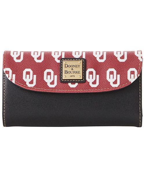 Dooney & Bourke Oklahoma Sooners Saffiano Continental Clutch