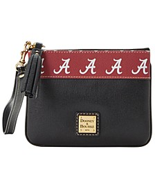 Alabama Crimson Tide Saffiano Stadium Zip Wristlet