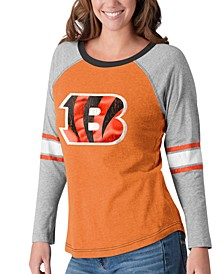 Women's Cincinnati Bengals Long Sleeve Top Pick T-Shirt
