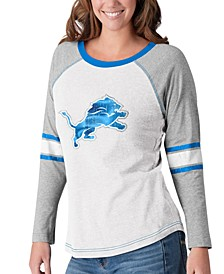 Women's Detroit Lions Long Sleeve Top Pick T-Shirt