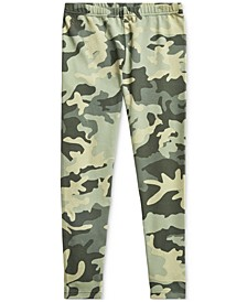 Big Girls Camo Stretch Jersey Legging