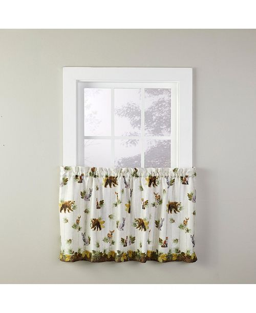 """Saturday Knight Into The Woods 24"""" Window Tier Pair"""