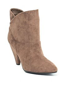 Flores Pull-On Asymmetrical Topline Bootie