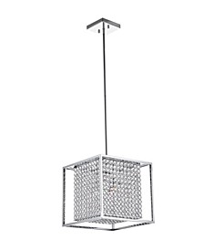 Cube 3 Light Chandelier