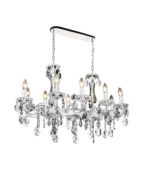 CWI Lighting Flawless 10 Light Chandelier