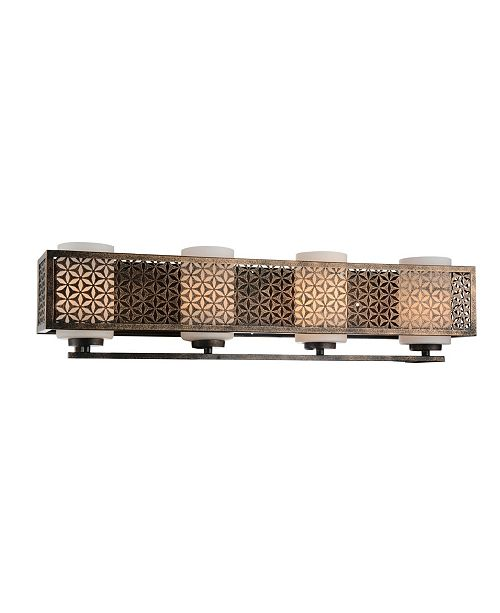 CWI Lighting CLOSEOUT! Pollett 4 Light Wall Sconce