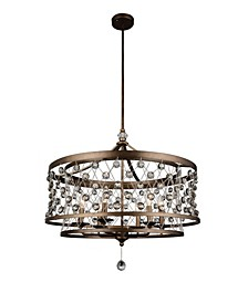 CLOSEOUT! Tieda 6 Light Up Chandelier
