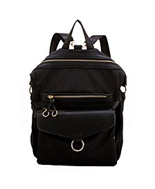 Relaxed Dual Color Scheme Backpack