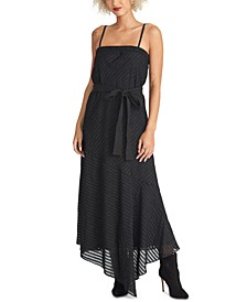 Isla Belted Asymmetrical Dress