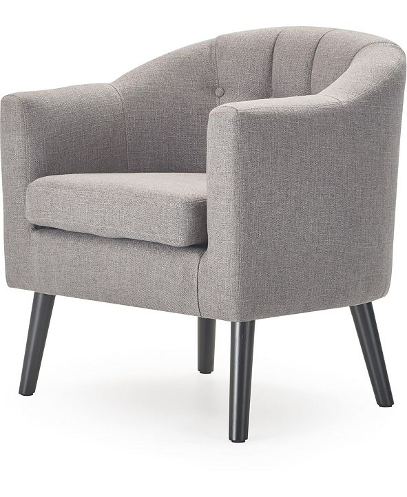 Adore Decor Ivey Tufted Accent Chair