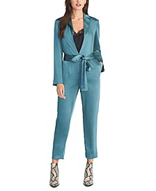 Belted High-Rise Jumpsuit