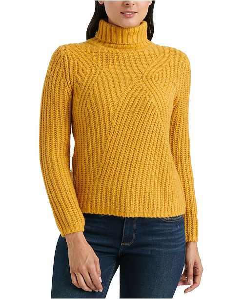 Lucky Brand Traveling Rib Sweater