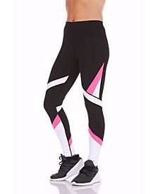 Color blocked High-Rise Leggings